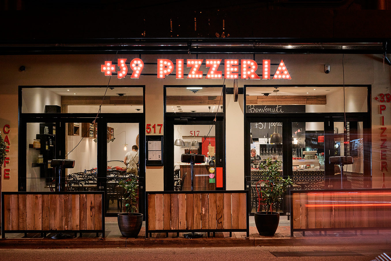 Plus 39 Pizzeria toorak location front facade